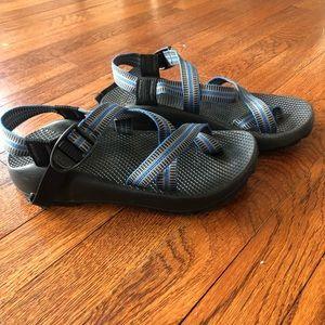 Chaco vibram unaweep trail blue sandals